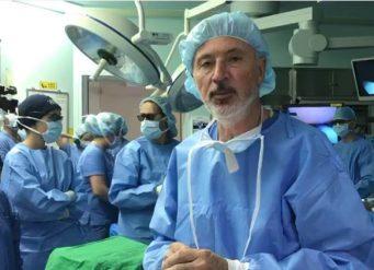 Intervención de un cáncer de recto en Corea del Sur