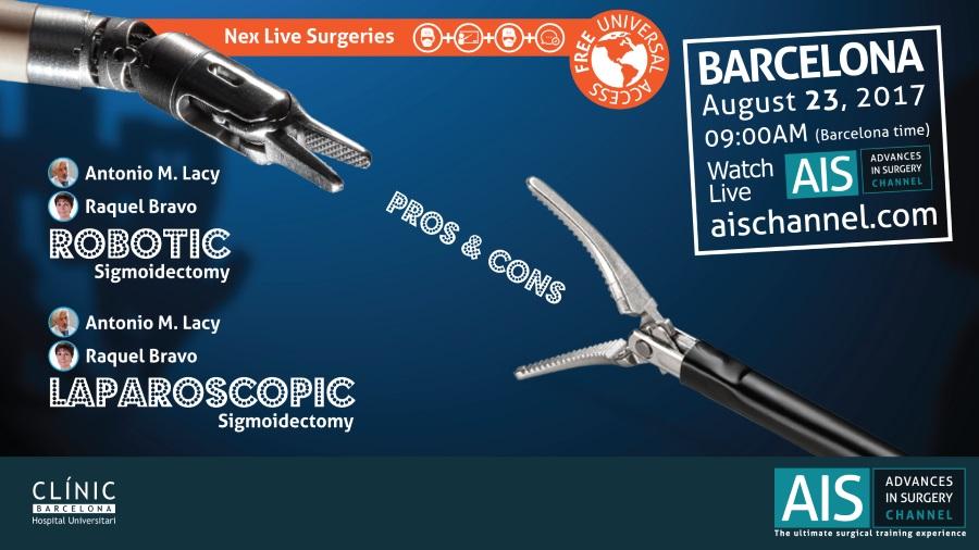 Cirugía Robótica VS. Laparoscópica en el cáncer de colon en AIS Channel