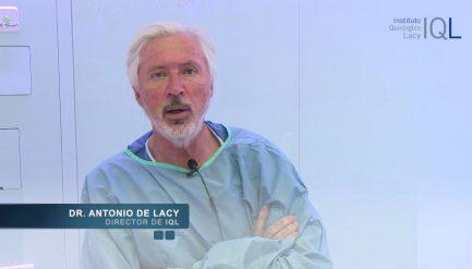 Dr. Antonio de Lacy. Intervención de cáncer de recto