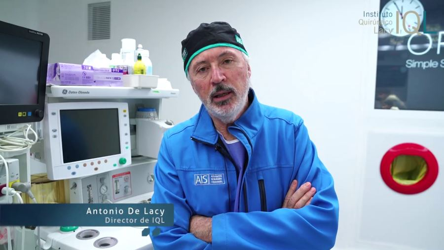 Cáncer de páncreas por cirugía laparoscópica explicado por el Dr. Antonio de Lacy