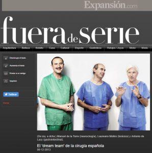 2013-06-012. Expansión. El Dream Team de la cirugía española