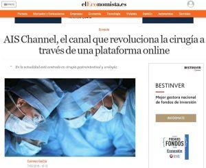 2018-03-07. El Economista. AIS Channel el canal que revoluciona la cirugía online
