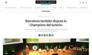 2018-03-21. Metropoli abierta. El Dr. de Lacy participa en Barcelona Global Summit