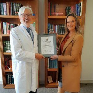 Entrega del Premio Top Doctors 2018 al Dr. Antonio de Lacy