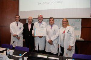 Premio MERCO 2018 al Servicio de Cirugía General y Digestiva del Clinic de Barcelona como el mejor de España