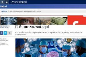 El futuro ya está aquí. La cirugía 4.0 en La Vanguardia