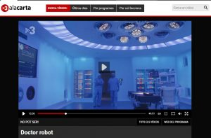 2013-05-12. TV3. No pot ser. Dr. Robot