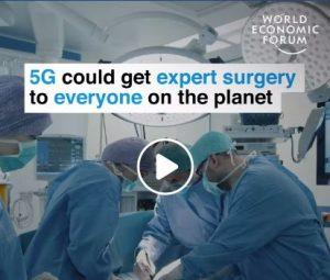 El World Economic Forum se explica como el 5G permitirá llevar la asistencia de expertos en cirugía a todo el planeta y en el cual se menciona la primera experiencia a nivel mundial que hicimos en Barcelona con la tecnología 5G aplicada a la cirugía en el marco del #MWC2019