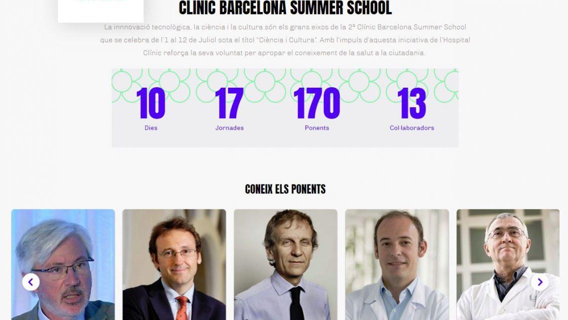 CLÍNIC BARCELONA SUMMER SCHOOL 2019