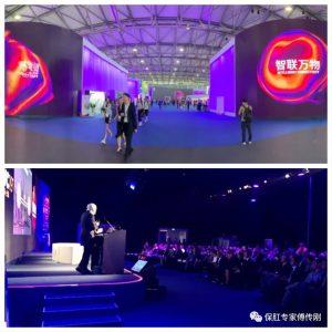 2019-06-28. MWC de Shanghai 2019. Dr. Antonio de Lacy. Primera cirugía teleasistida 5G en Asia 01