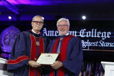 El Dr. Antonio de Lacy recibe el Premio Honorífico del American College of Surgeons. El de más prestigio a novel mundial.